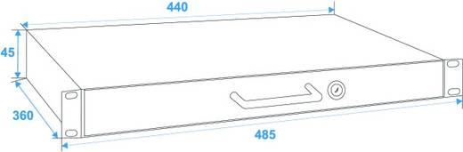 Omnitronic 30100951 19 Zoll Rackschublade 1 HE Stahl