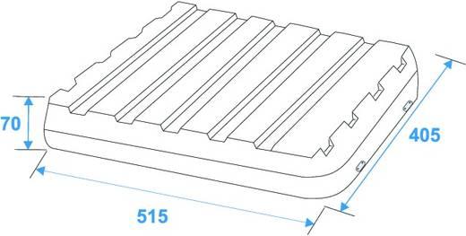 DD/Trolley 19 Zoll Rack 8 HE Kunststoff inkl. Griff, inkl. Rollen