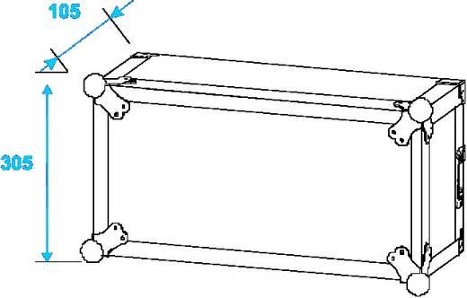 19 Zoll Rack 4 HE Holz inkl. Griff