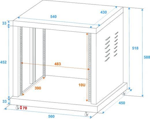 19 zoll rack 10 he omnitronic sr 19 stahl inkl rollen kaufen. Black Bedroom Furniture Sets. Home Design Ideas