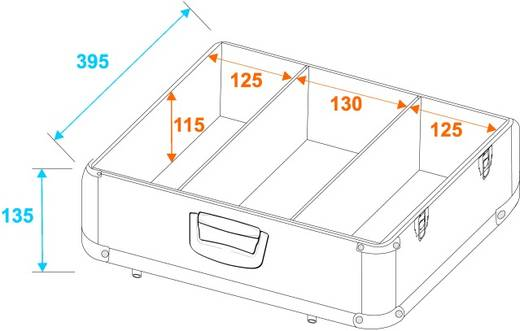 CD-Case 30122054 (L x B x H) 190 x 430 x 430 mm