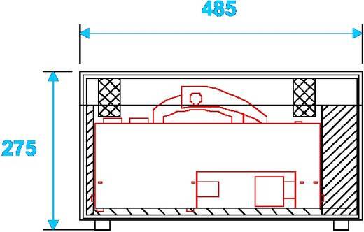 Case 31000630 (L x B x H) 275 x 503 x 285 mm