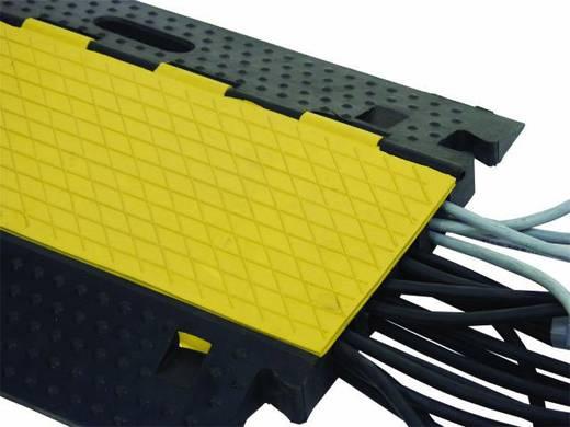 Kabelbrücke Eurolite 4 Kanäle 800mm x 550mm Schwarz-Gelb