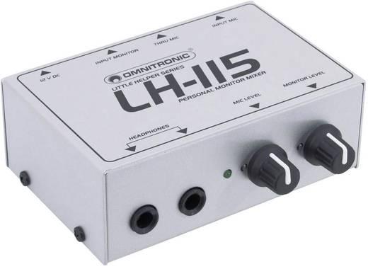 Monitormixer Omnitronic LH-115
