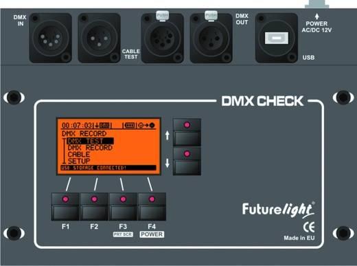 DMX-Tester FutureLight DMX-Check im Case (L x B x H) 285 x 325 x 180 mm