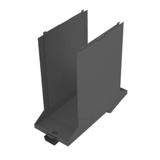 Hutschienen-Gehäuse Basiselement 107.4 x 45 x 109.3 Weidmüller CH20M45 B GGY/BK 6 St.