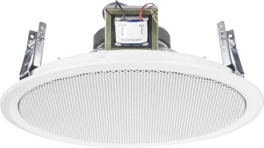 ELA-Einbaulautsprecher Monacor EDL-10TW 10 W 100 V Weiß 1 St.