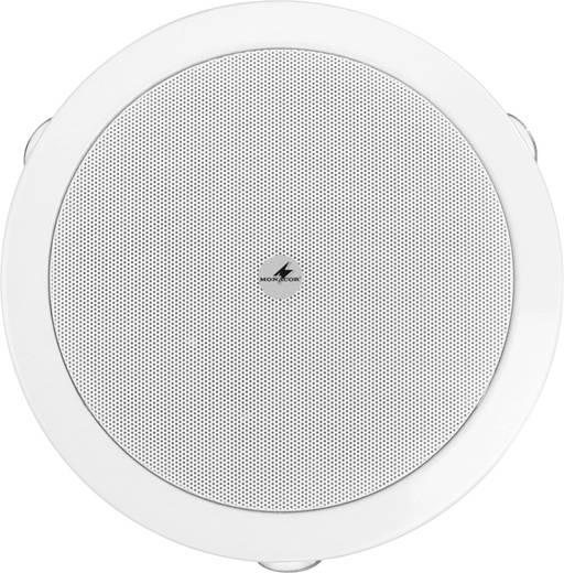ELA-Einbaulautsprecher Monacor EDL-606 6 W 100 V Weiß 1 St.