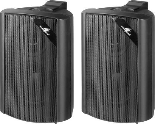 ELA-Lautsprecherbox Monacor EUL-30/SW 15 W Schwarz 1 Paar