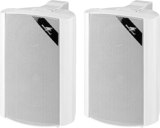ELA-Lautsprecherbox Monacor EUL-30/WS 15 W Weiß 1 Paar