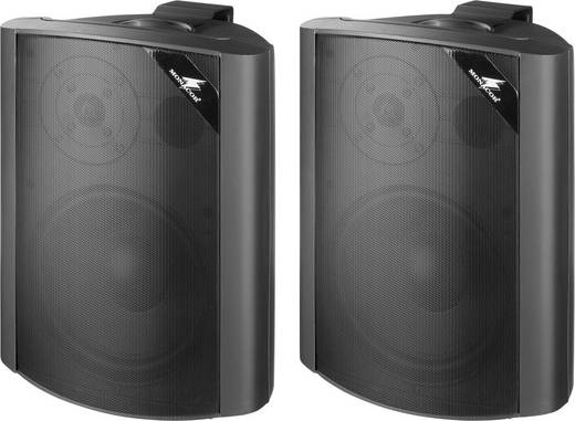 ELA-Lautsprecherbox Monacor EUL-80/SW 30 W Schwarz 1 Paar