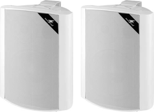 ELA-Lautsprecherbox Monacor EUL-80/WS 30 W Weiß 1 Paar