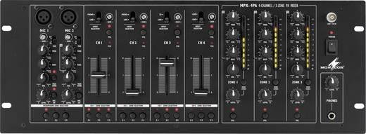 DJ Mixer 19 Zoll Einbau Monacor MPX-4PA
