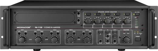 ELA-Verstärker Monacor PA-1120 120 W 5-Zonen