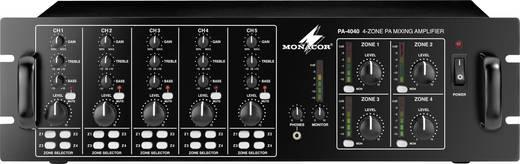 ELA-Verstärker Monacor PA-4040 40 W 4-Zonen