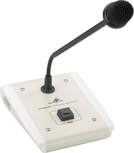 Schwanenhals Sprach-Mikrofon Monacor PA-5000PTT Übertragungsart:Kabelgebunden