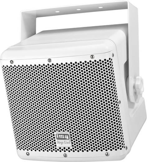 Außenlautsprecher Monacor PAB-82WP/WS 50 W IP45 Weiß 1 St.