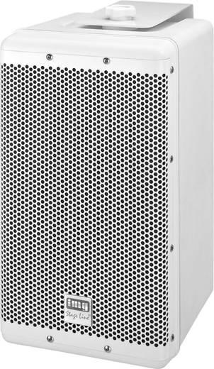 Außenlautsprecher Monacor PAB-8WP/WS 120 W IP45 Weiß 1 St.