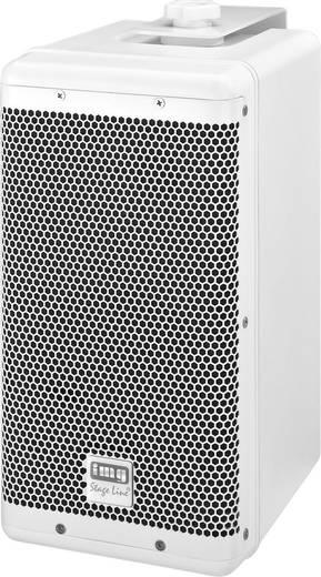 Außenlautsprecher Monacor PAB-6WP/WS 100 W IP45 Weiß 1 St.