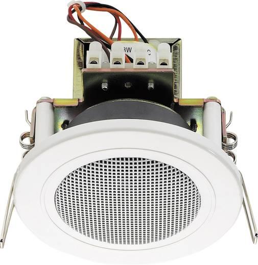 ELA-Einbaulautsprecher Monacor EDL-82/WS 6 W 100 V Weiß 1 St.