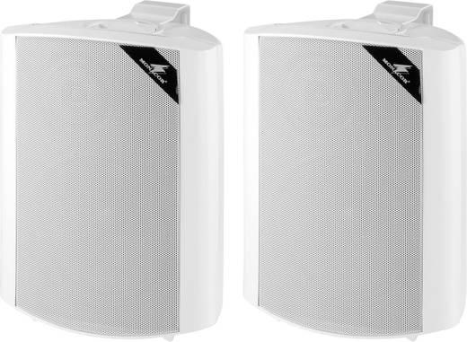 ELA-Lautsprecherbox Monacor EUL-60/WS 15 W Weiß 1 Paar
