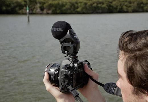 Kamera-Mikrofon RODE Microphones SVMP Stereo VideoMic Übertragungsart:Direkt inkl. Windschutz, Blitzschuh-Montage