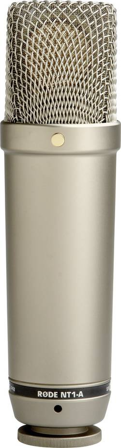 Studiový mikrofon kabelový RODE Microphones NT1-A, vč. kabelu, vč. pavouka