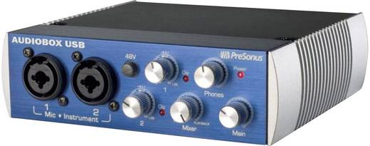 Audio Interface PreSonus AudioBox USB-Interface inkl. Software, Monitor-Controlling