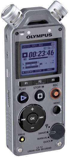 Mobiler Audio-Recorder Olympus LS-12 Silber