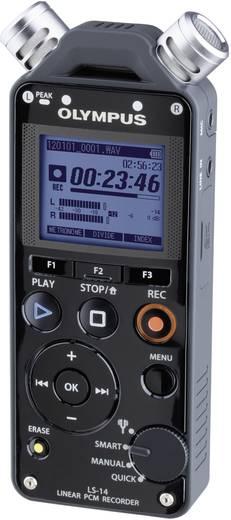 Mobiler Audio-Recorder Olympus LS-14 Schwarz