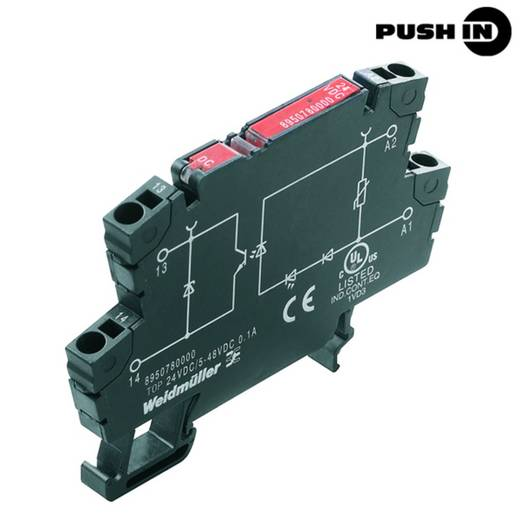 Weidmüller Halbleiterrelais 10 St. TOP 230VAC/48VDC 0.5A RC Last-Strom (max.): 500 mA Schaltspannung (max.): 48 V/DC