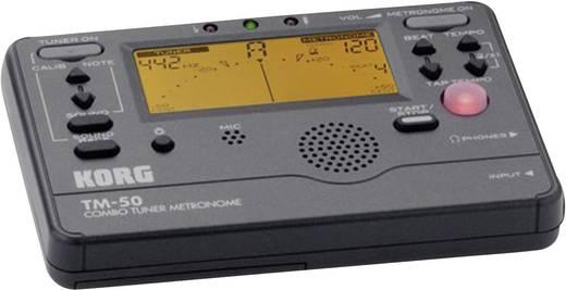 Gitarrenstimmgerät KORG TM-50 Schwarz