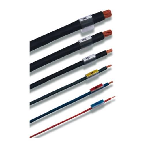 Zeichenträger Montage-Art: aufschieben Beschriftungsfläche: 18 x 5.4 mm Passend für Serie Einzeldrähte Transparent Weidm