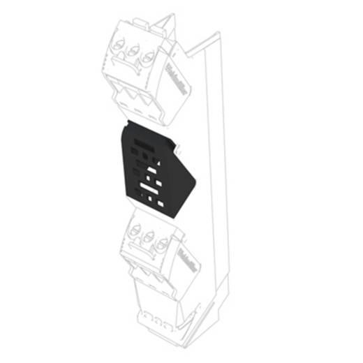 Hutschienen-Gehäuse Abdeckung 14.6 x 22.5 x 23.7 Weidmüller CH20M AD SHL 5.00/04 BK 50 St.