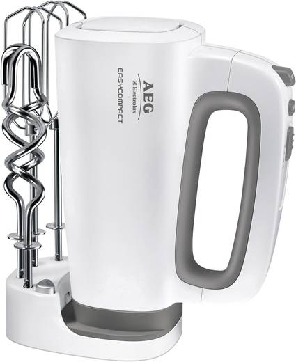 Handmixer AEG HM 4200 Handmixer 300 W Weiß, Grau