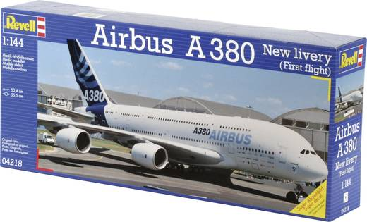 Revell Airbus A380 New Livery