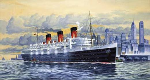 Revell 05203 Luxury Liner Queen Mary Schiffsmodell Bausatz