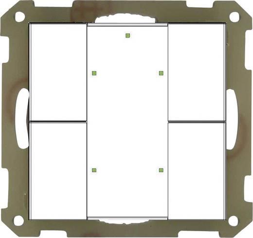 mdt knx taster 4 fach plus unterputzger t reinwei matt status und orientierungs led. Black Bedroom Furniture Sets. Home Design Ideas