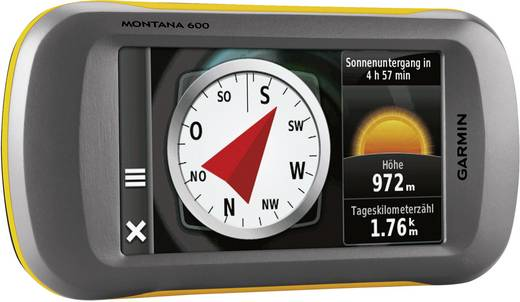 Garmin Montana™ 600 Outdoor Navi