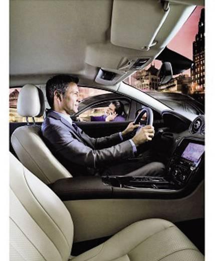 Bluetooth® Freisprecheinrichtung Jabra BT-FSE Freeway Gesprächs-Zeit (max.): 14 h