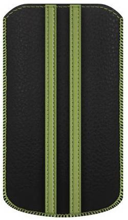 Housse Katinkas Stripe Adapté pour: iPhone 4, iPhone 4s, noir, vert