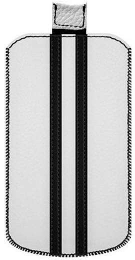 Katinkas Stripe iPhone Tasche Passend für: iPhone 4, iPhone 4s, Weiß, Schwarz