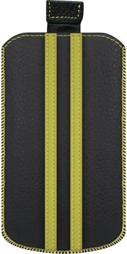iPhone Tasche Katinkas Stripe Passend für: iPhone 4, iPhone 4s, Schwarz, Gelb