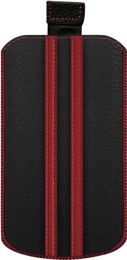 iPhone Tasche Katinkas Stripe Passend für: iPhone 4, iPhone 4s, Schwarz, Rot