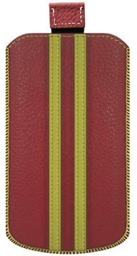iPhone Tasche Katinkas Stripe Passend für: iPhone 4, iPhone 4s, Rot, Gelb