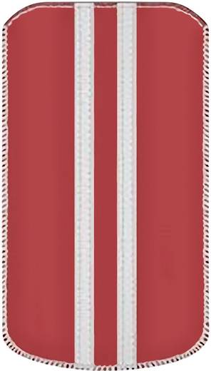 iPhone Tasche Katinkas Stripe Passend für: iPhone 4, iPhone 4s, Rot, Weiß