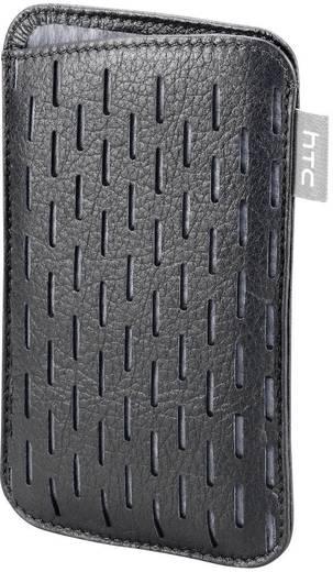 HTC Etui en cuir Desire S/Salsa Backcover Passend für: HTC Desire S, HTC Salsa Schwarz