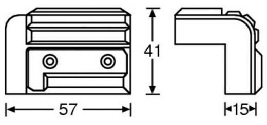 Lautsprecher-Ecke (L x B) 56 mm x 36 mm Kunststoff 4072 1 St.