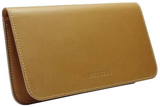 Samsung Coque EF-C1A2L (marron) Sleeve Passend für: Samsung Galaxy S2 Braun