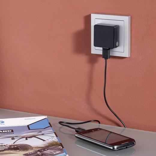 USB-Ladegerät Steckdose, KFZ Ausgangsstrom (max.) 1000 mA 1 x Micro-USB, USB